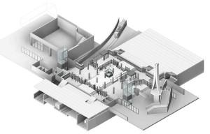 15th street station mezzanine rendering