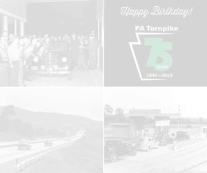 Turnpike 75th Anniversary - faded white