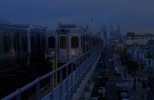 Market Frankford Line - Dark Blue