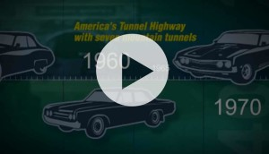 play history of PA turnpike video