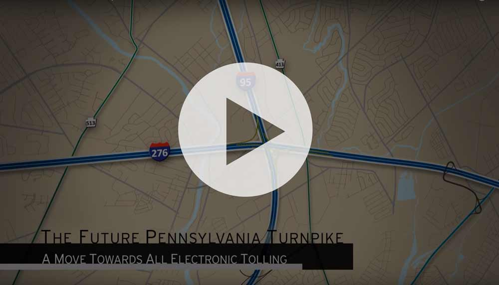 play PA turnpike video