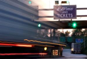 Turnpike EZ Pass blur